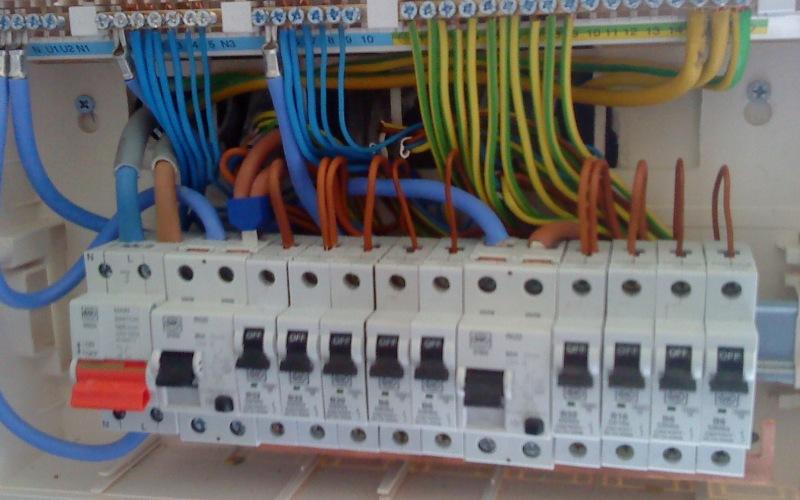 fusebox rewiring